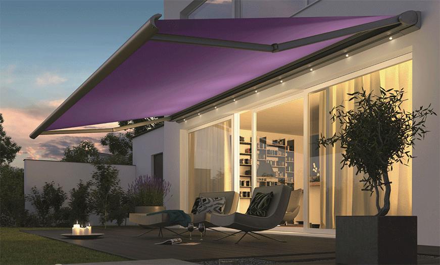 les stores ext rieurs sur mesure. Black Bedroom Furniture Sets. Home Design Ideas